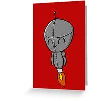 Li'l Robo Dude Greeting Card