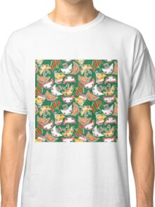 """""""Oro?"""" Christmas Forest Green Classic T-Shirt"""