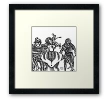 These aren't the Droids You're looking for... Framed Print