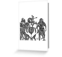 These aren't the Droids You're looking for... Greeting Card