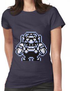 Wario 8bit Womens Fitted T-Shirt
