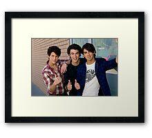 jonas brothers Framed Print