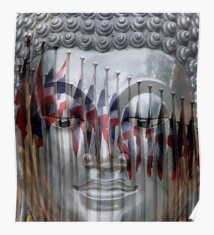 Thailand Flag Reflections Poster