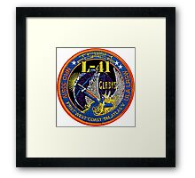 NROL-41 (Gladys) Launch Team Logo Framed Print