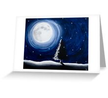 A Solstice Night Greeting Card