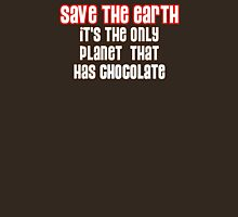 Save the Chocolate Womens Fitted T-Shirt