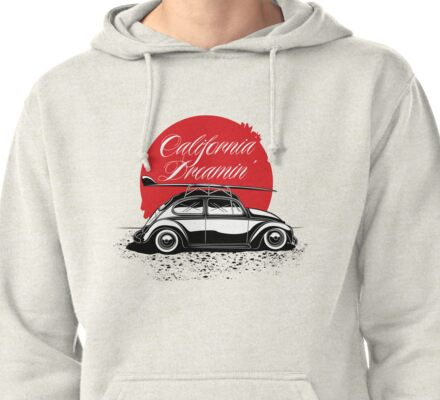 California Dreamin' Pullover Hoodie