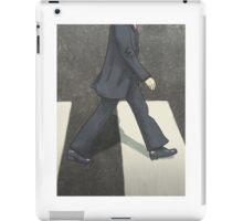 The Beatles Ringo Starr Illustration Abbey Road Zebra Crossing iPad Case/Skin
