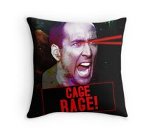 Nicolas Cage Rage! Throw Pillow
