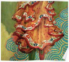Flamenco Dress Poster