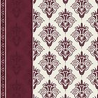Vintage Damask Pattern by Nataliia-Ku
