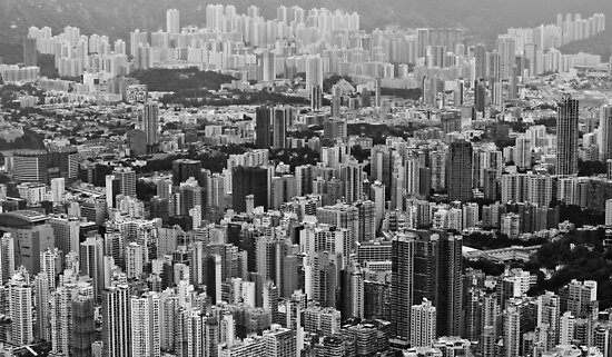 Kowloon, Hong Kong by Dean Bailey