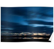river ythan sunset Poster