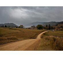 Rain on the Hills Photographic Print