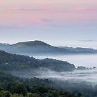 Dawn on the Malvern Hills, England by Cliff Williams