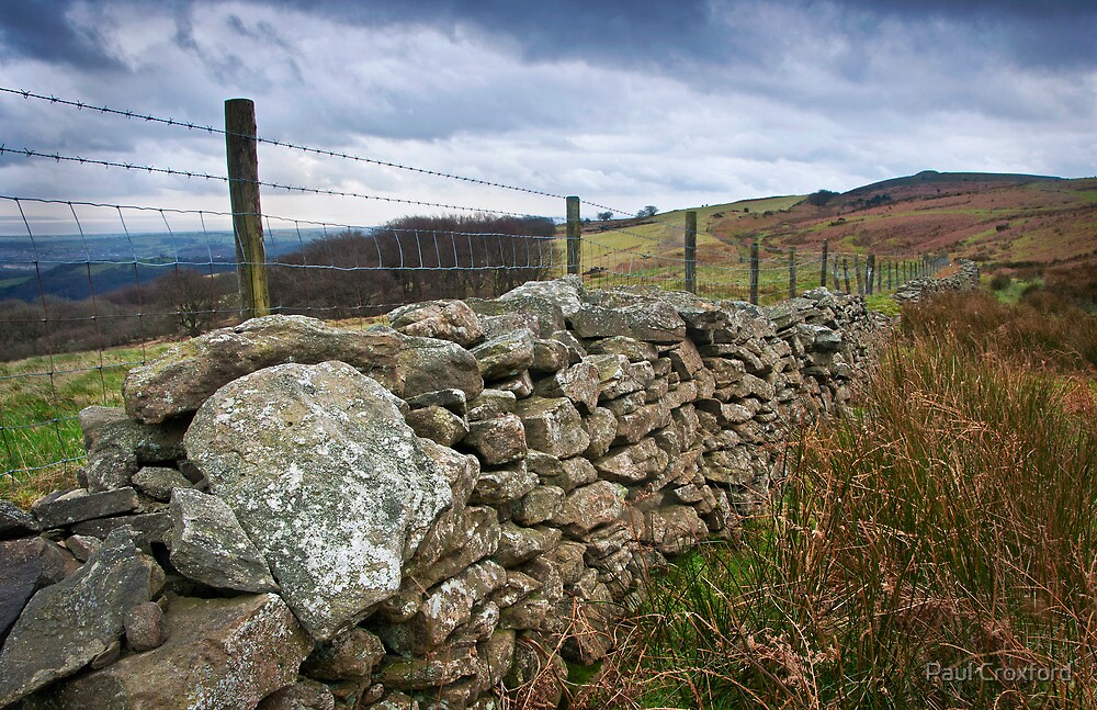 View Towards Twmbarlwm on Mynydd Maen 02 by Paul Croxford