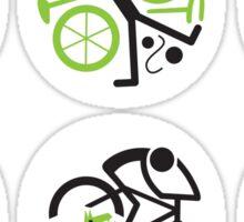 Dangers on the road 1-6 Sticker