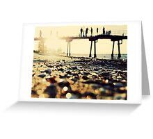 All our days were a sundrenched haze..... Greeting Card