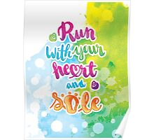 Run with Your Heart and SOLE Poster