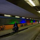 Tunnel of Lights - Utrecht, The Netherlands by Norman Repacholi