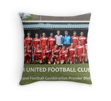 Bloxwich United Team Photo 2012-2013 Throw Pillow