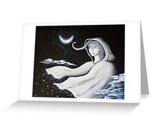 Cloak of a Winter Night Greeting Card