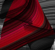 Red Black And Grey by Rois Bheinn Art and Design