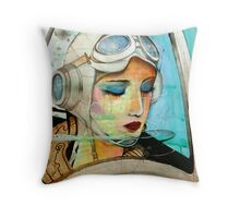 The Pilot Of Your Dreams  Throw Pillow