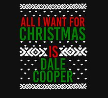 All I Want For Christmas (Dale Cooper) Women's Fitted Scoop T-Shirt
