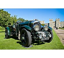 Bentley Blower at  Windsor Concours of Elegance 2012 Photographic Print