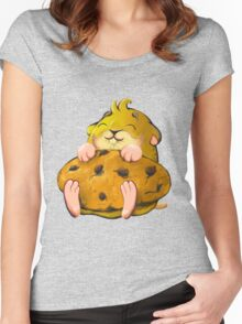 Clever hamster Women's Fitted Scoop T-Shirt