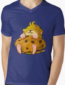 Clever hamster Mens V-Neck T-Shirt