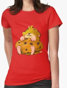 Clever hamster Womens Fitted T-Shirt