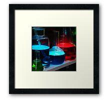 Lab bar Framed Print