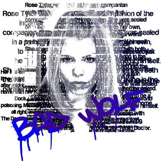 Rose Tyler - Text by SkinnyJoe