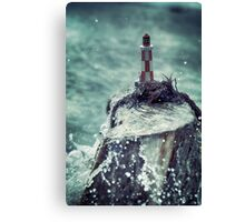 The Lighthouse (Toy stories) Canvas Print