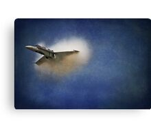 Sonic BOOM Canadian Style Canvas Print