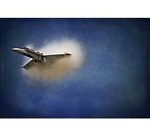 Sonic BOOM Canadian Style Photographic Print