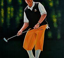 Payne Stewart painting by PaulMeijering
