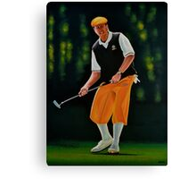Payne Stewart painting Canvas Print