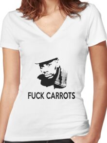 dave chappelle Women's Fitted V-Neck T-Shirt