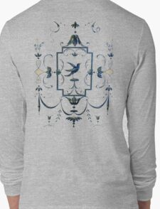 Italian Renaissance Bird T-Shirt Long Sleeve T-Shirt