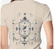Italian Renaissance Bird T-Shirt Womens Fitted T-Shirt