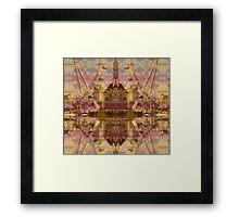 city merge II Framed Print