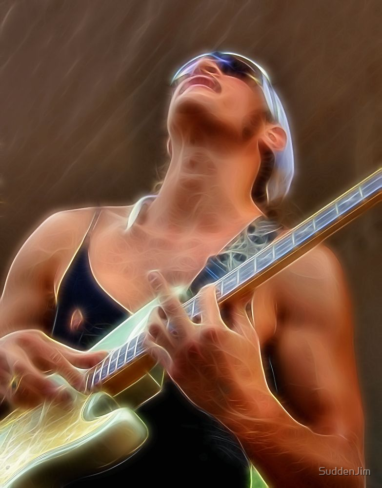 Electric Electric Guitar Player by SuddenJim