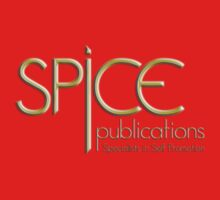 Spice Publications Gold Logo Baby Tee