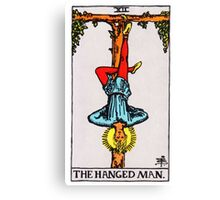 Tarot Card - The Hanged Man Canvas Print