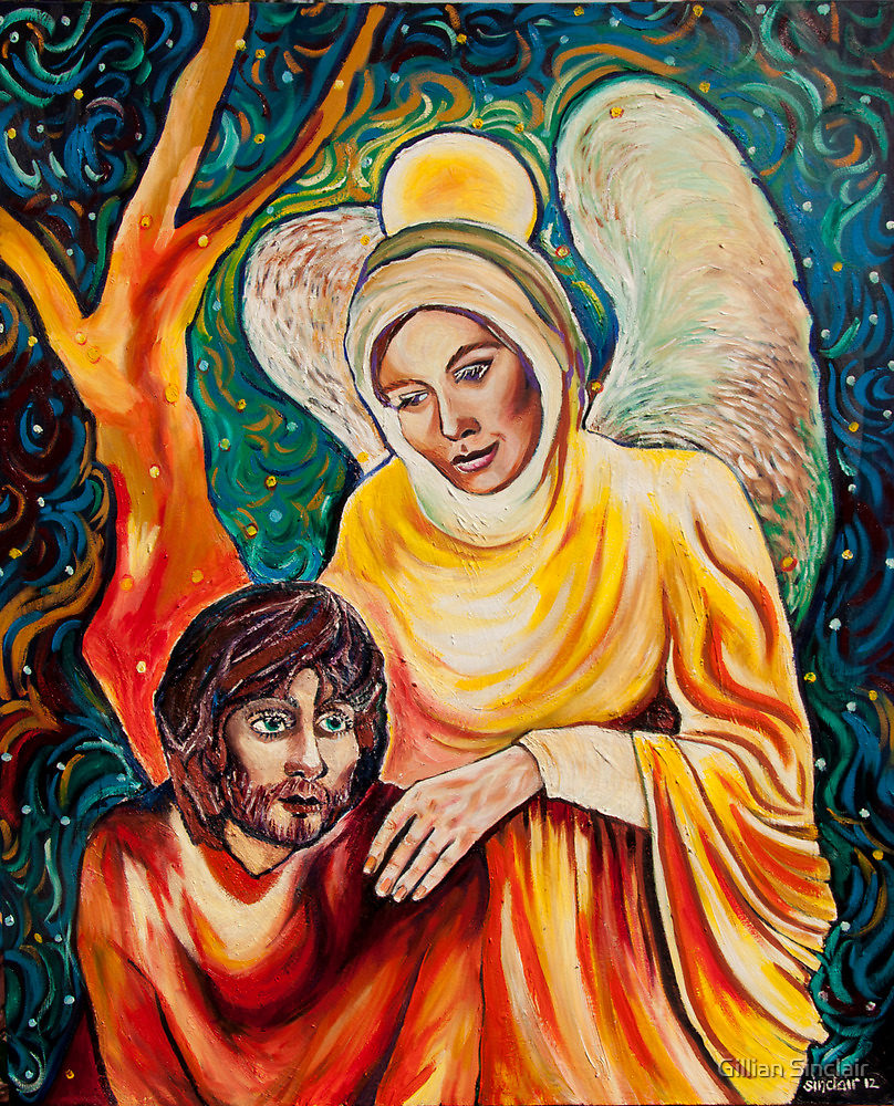 Angel in Gold by Gillian Sinclair