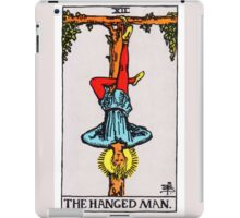 Tarot Card - The Hanged Man iPad Case/Skin