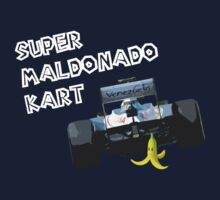 Super Maldonado Kart by Tommy Bee